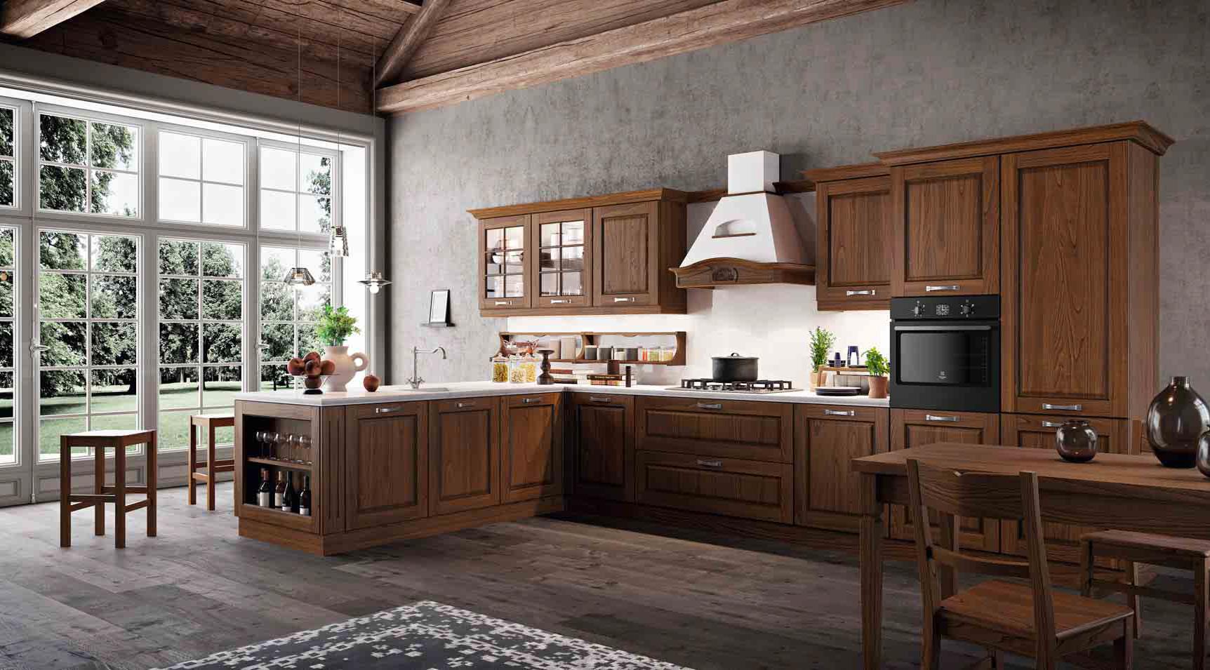 Cucine classiche arredamenti mario bianchi roma - Cucine classiche roma ...