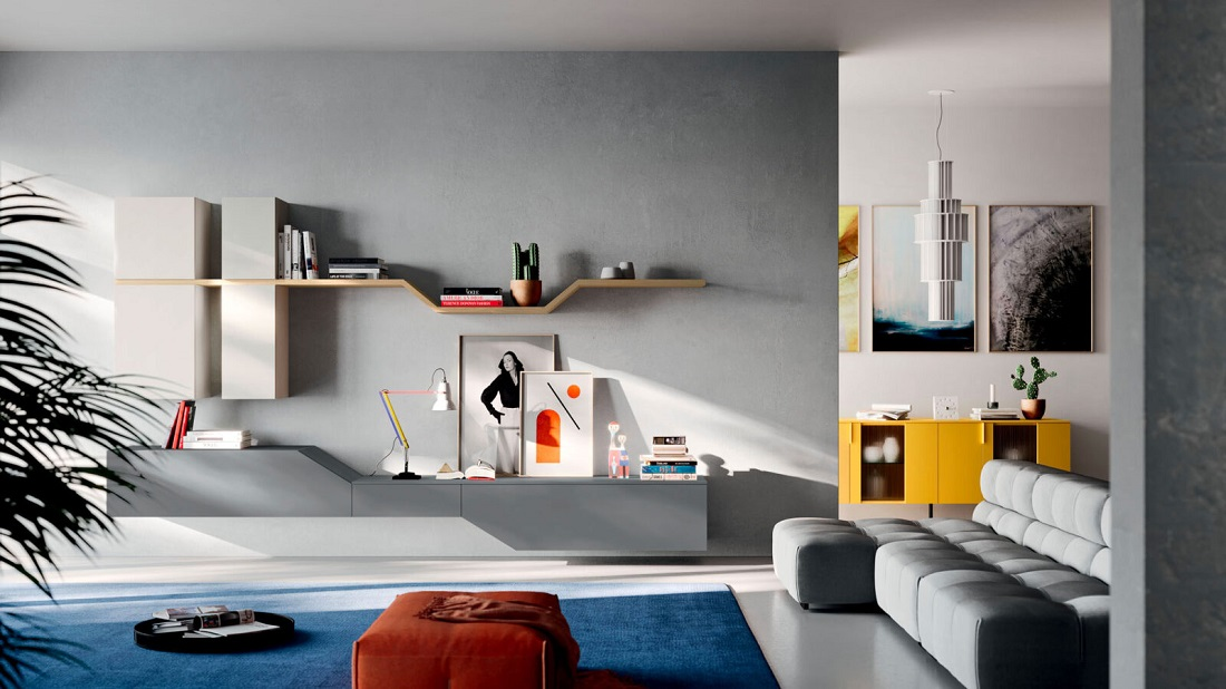 Soggiorni moderni arredamenti mario bianchi roma for Foto soggiorni moderni